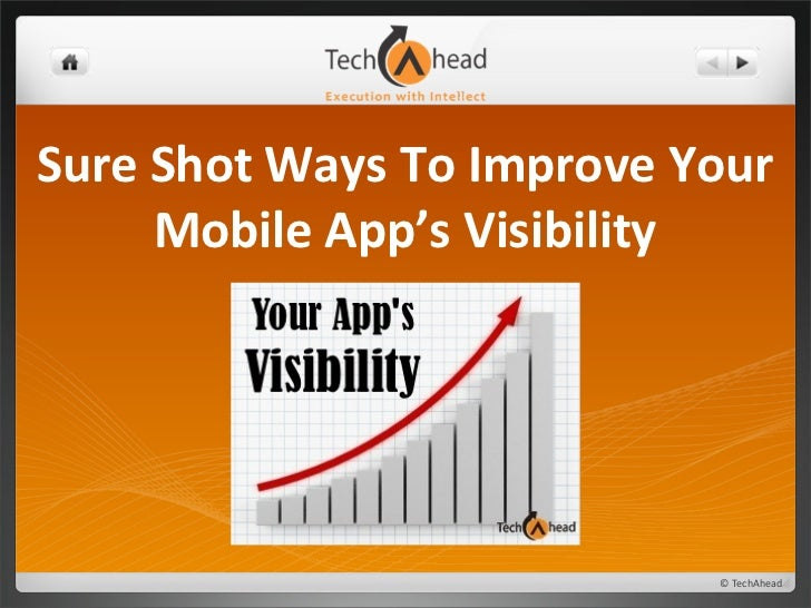 Sure Shot Ways To Improve Your Mobile App's Visibility
