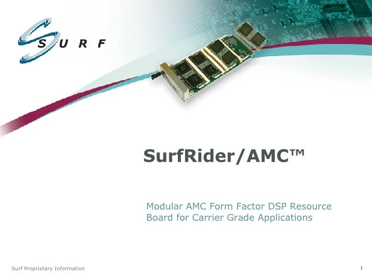 Surf Communication Solutions - Surf Rider Amc