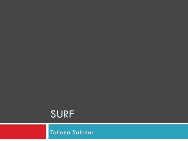 SURF Tatiana Salazar