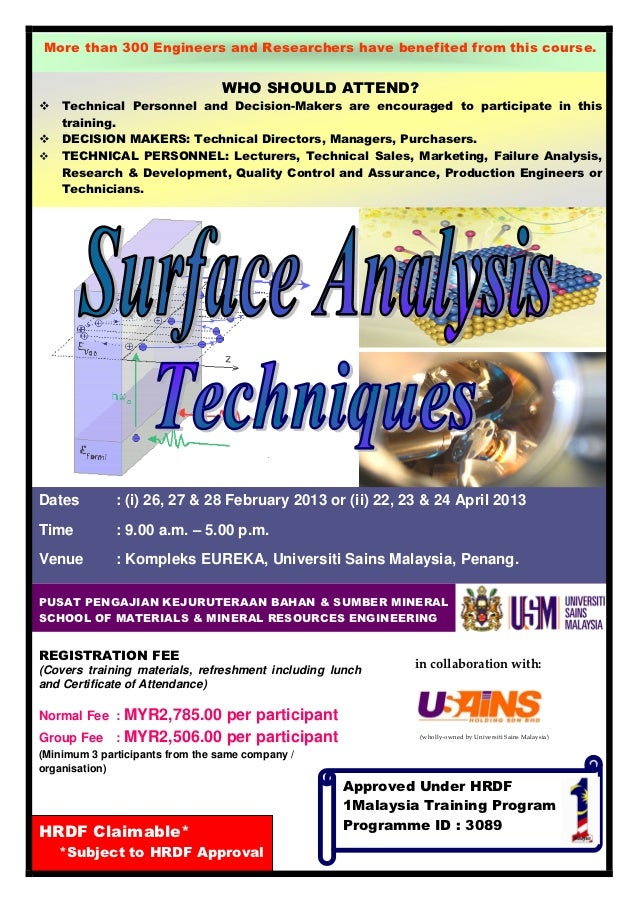 More than 300 Engineers and Researchers have benefited from this course.                                 WHO SHOULD ATTEND...