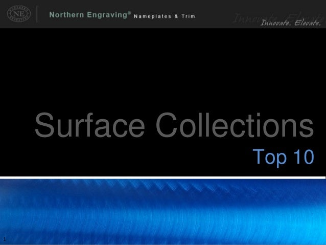 Top 10 Surface Collections eBook