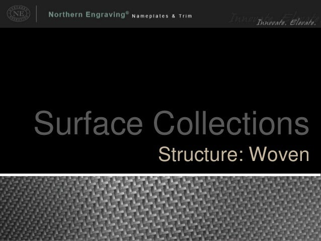 Surface Collections Structure: Woven
