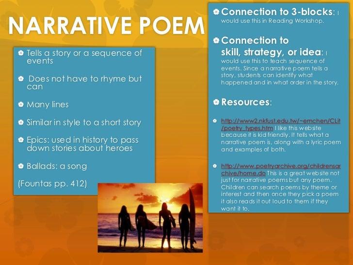 narrative essay rules