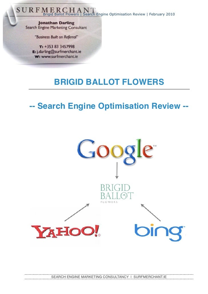 Search Engine Marketing Report