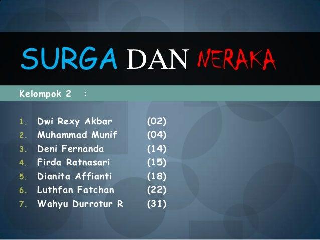 Kelompok 2 :1. Dwi Rexy Akbar (02)2. Muhammad Munif (04)3. Deni Fernanda (14)4. Firda Ratnasari (15)5. Dianita Affianti (1...