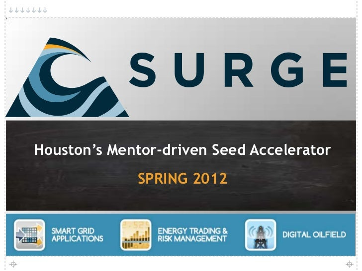 Houston's Mentor-driven Seed Accelerator<br />SPRING 2012<br />