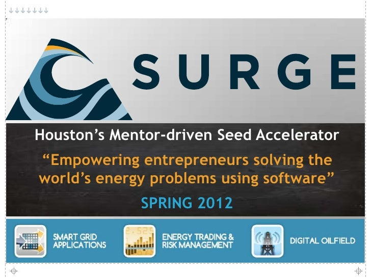 SURGE Accelerator Overview