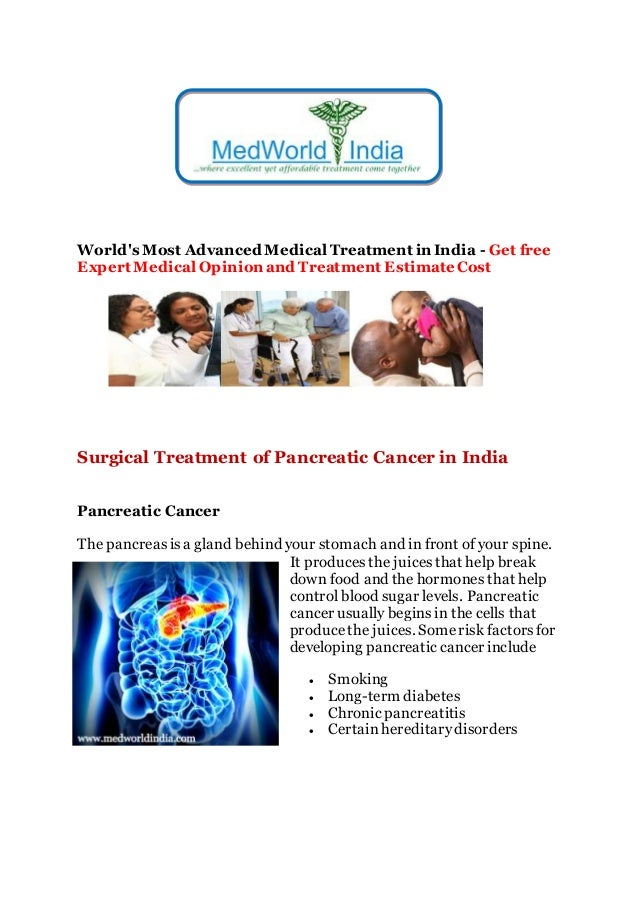 Surgical Treatment of Pancreatic Cancer in India
