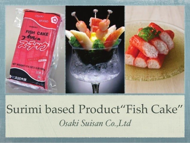 Surimi based product Osakisuisan Fish Cake