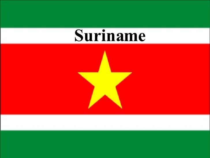 Suriname Presentatie