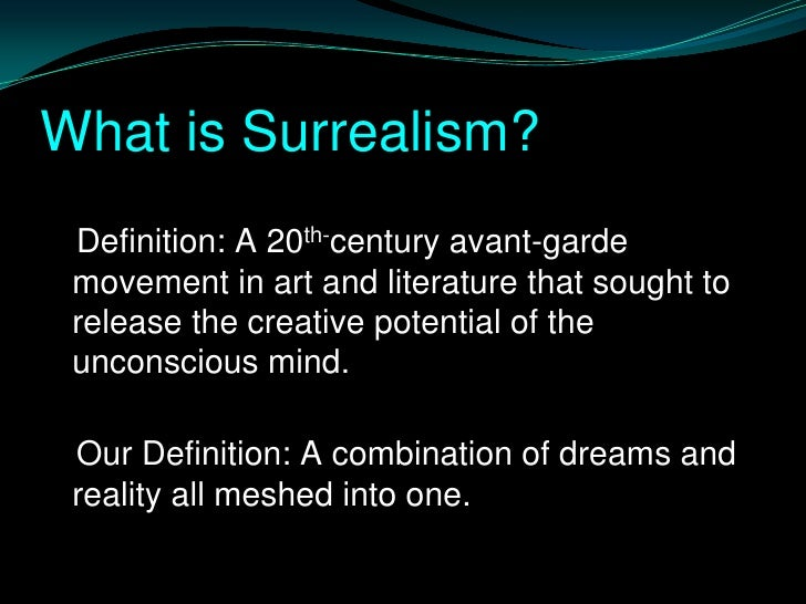 the definition of avant garde essay In avant-garde and kitsch, greenberg defends the view that there is such a thing as high art distinct from low or popular art.