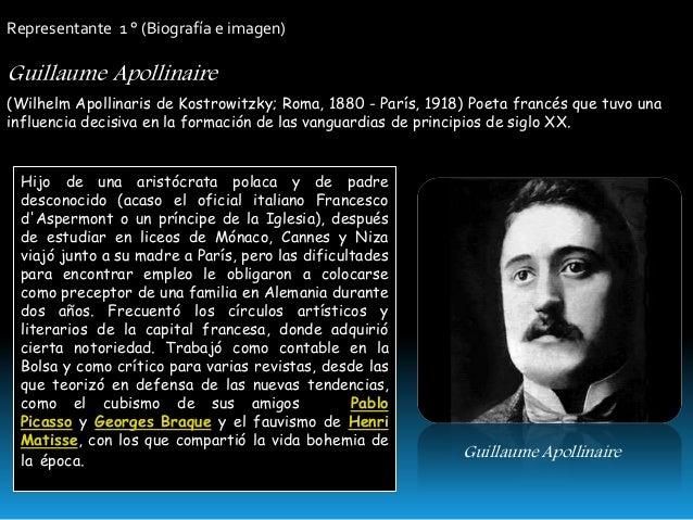 Guillaume Apollinaire biografia