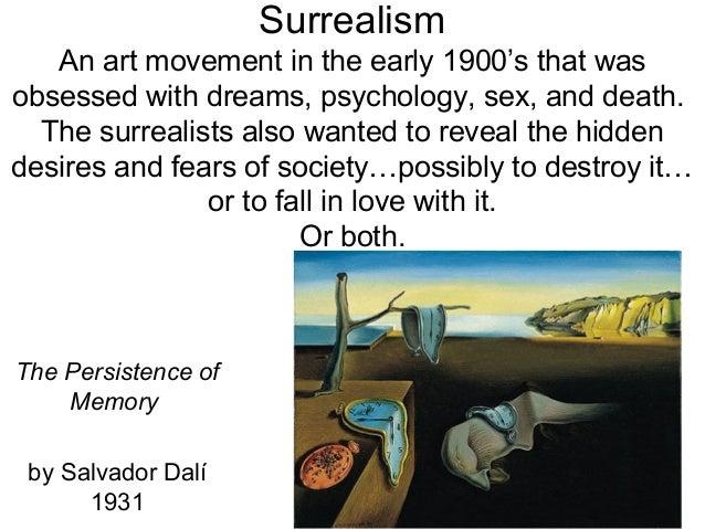 Surrealism overview