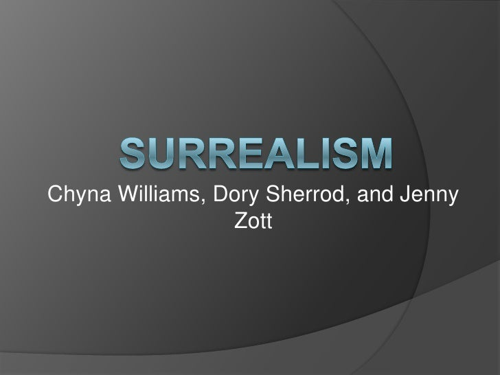 Surrealism powerpoint 4th hour