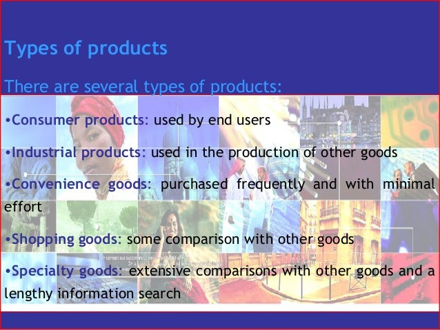 Comparison Goods And Convenience Goods of Other Goods•convenience