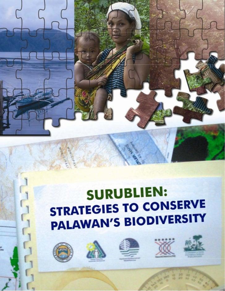 Surublien-Strategies To Conserve Palawan's Biodiversity