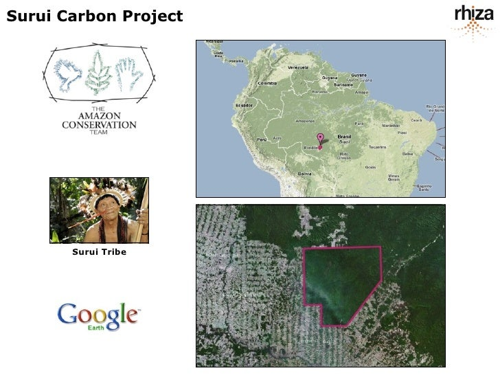 Surui Carbon Project            Surui Tribe