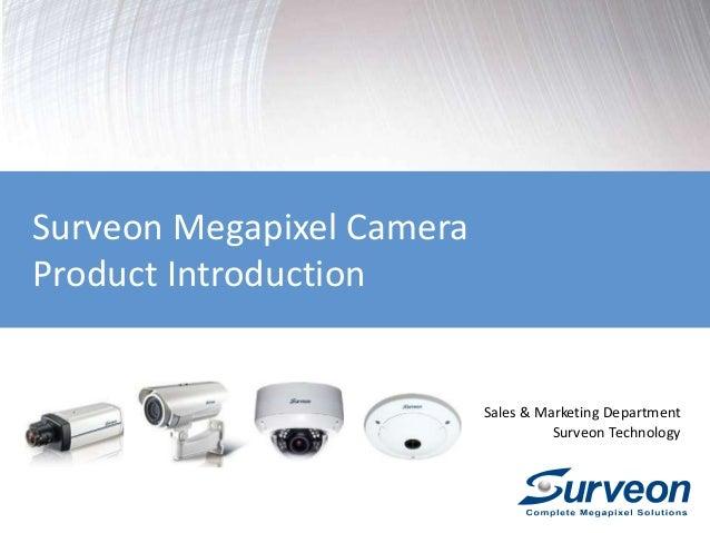 Surveon IP Camera Overview