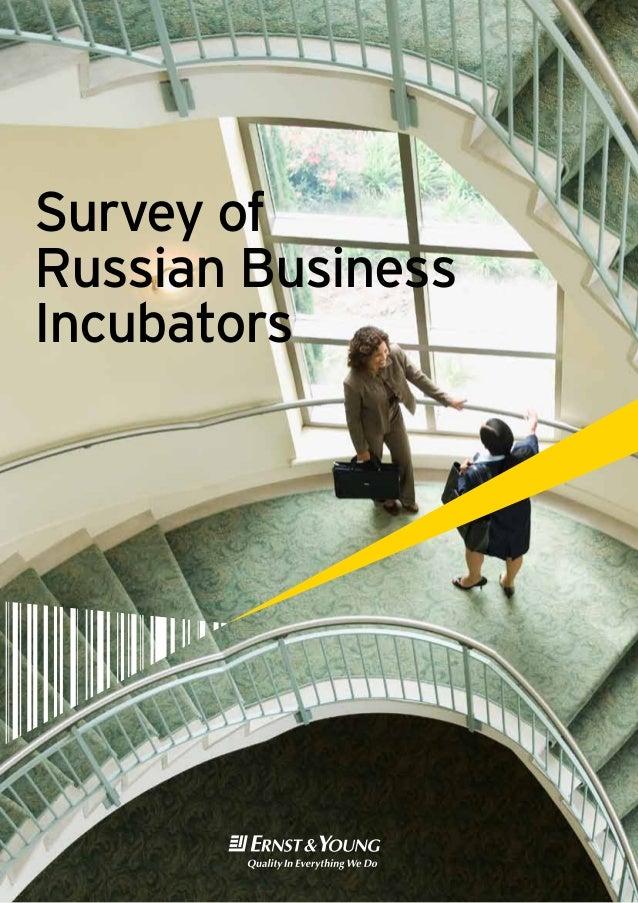 Survey ofRussian BusinessIncubators