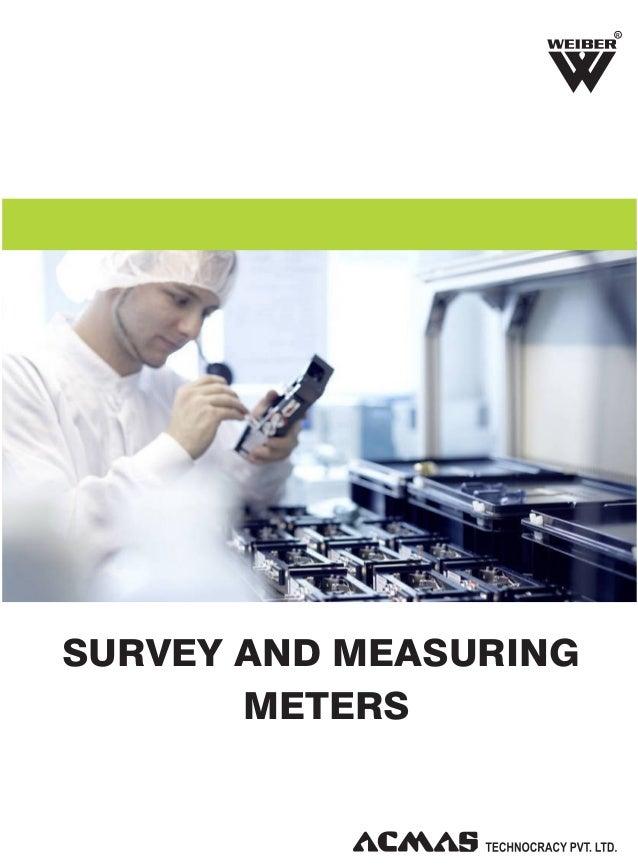 Survey & Measuring Meters by ACMAS Technologies Pvt Ltd.