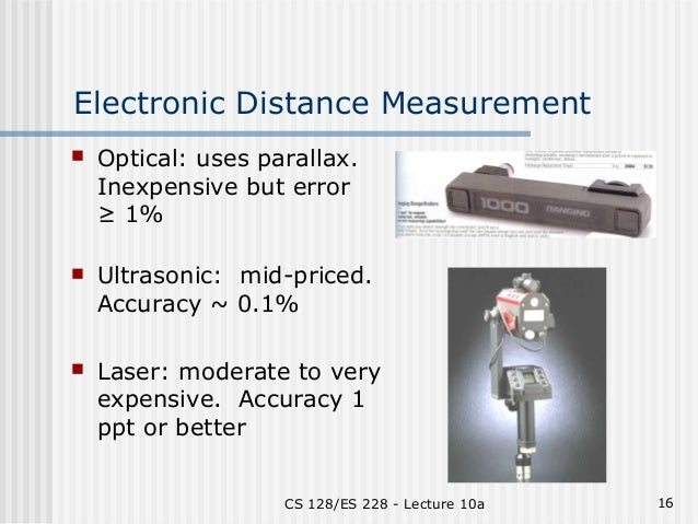 Surveying Electronic Distance Measurement : Surveying
