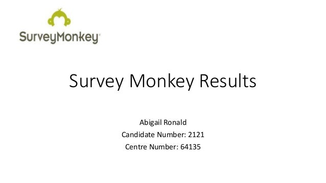 how to get results from survey monkey