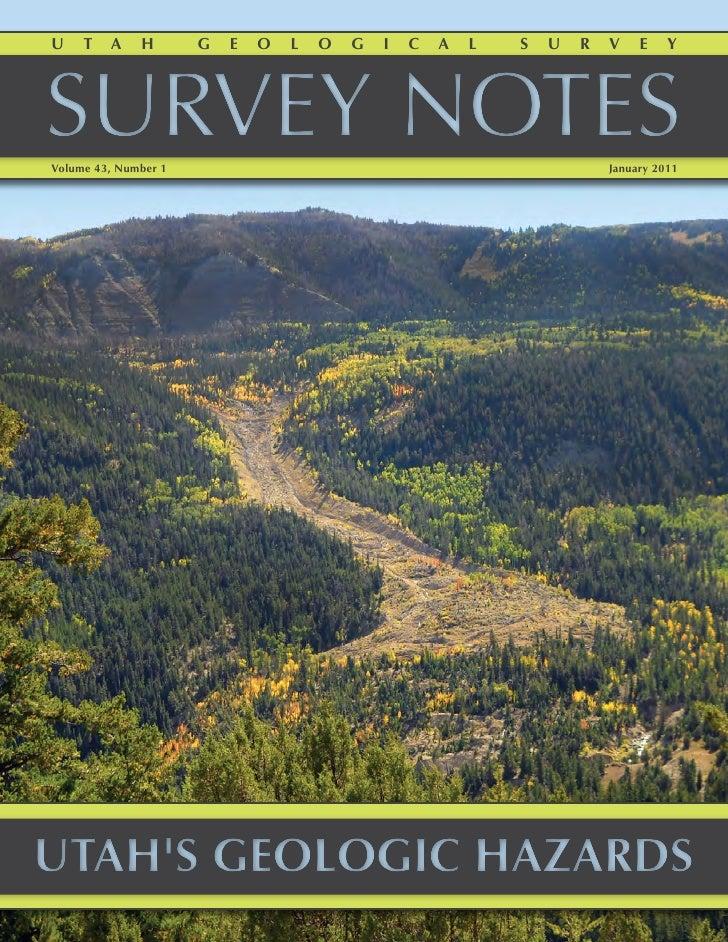 Survey Notes January 2011