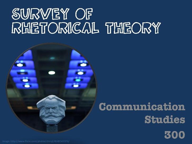 Survey of rhetorical theory
