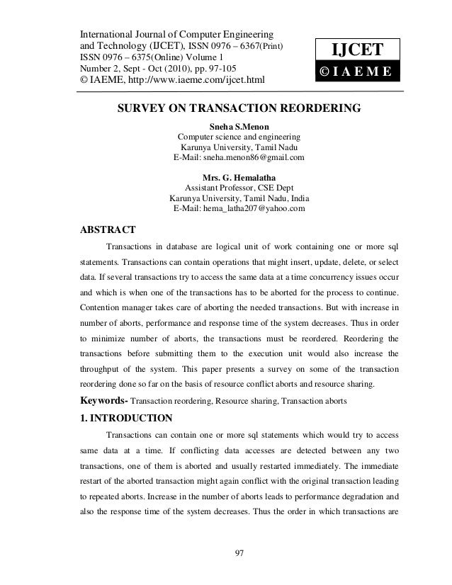International Journal of Computer Engineering and Technology (IJCET), ISSN 0976 – 6367(Print),International Journal of Com...