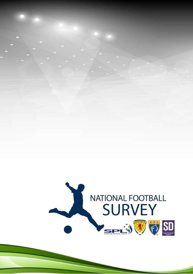 National Football Survey results (Scottish football 2013)