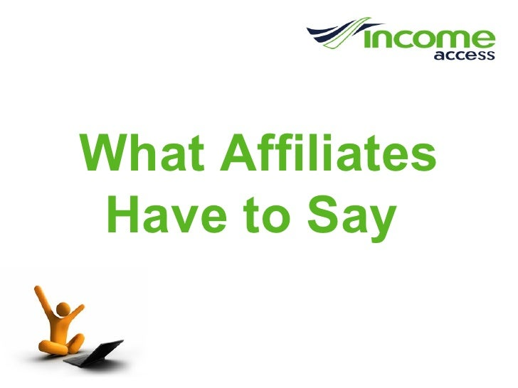 Income Access Affiliate Marketing Survey Results 2008