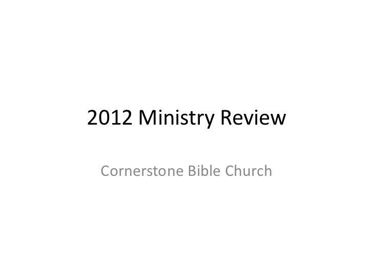 Survey results 2012