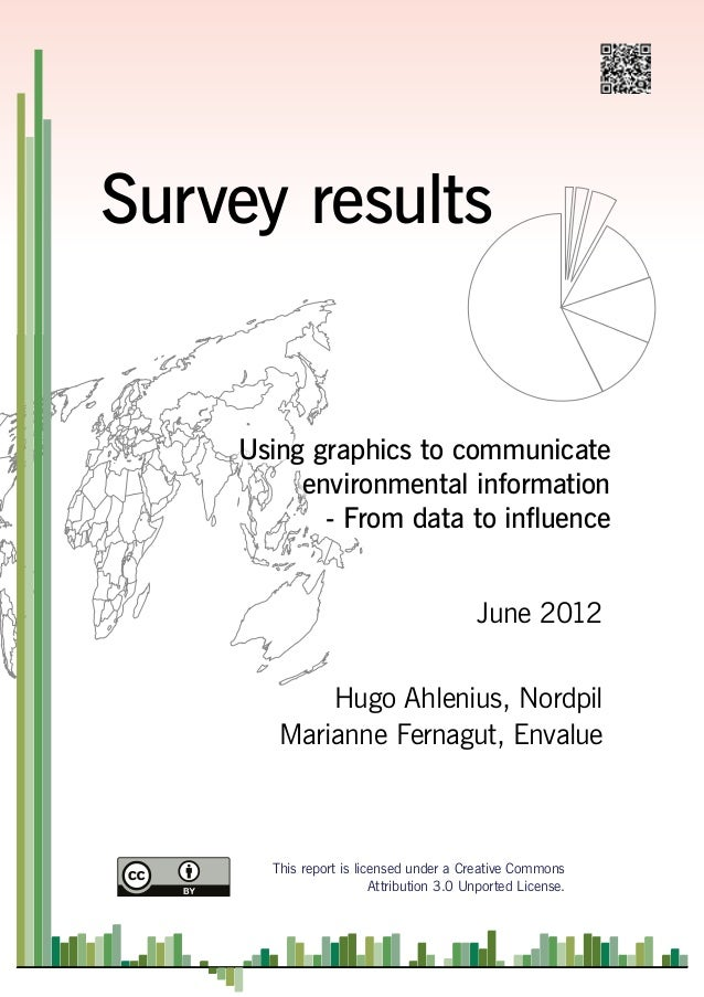 Survey on visual communication of scientific information and data through illustrations, charts and diagrams.