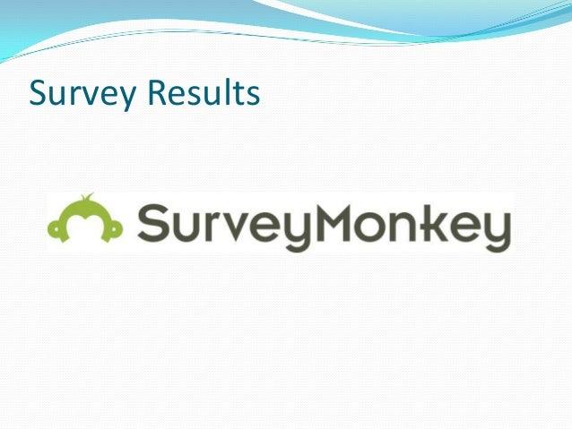 survey results power point. Black Bedroom Furniture Sets. Home Design Ideas