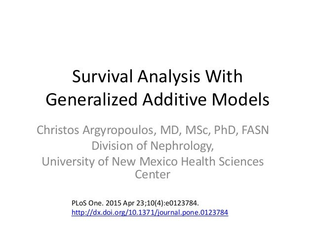 survival models Sas/stat software survival analysis  the models for the response variable consist of a linear effect composed of the covariates and a random disturbance term the .