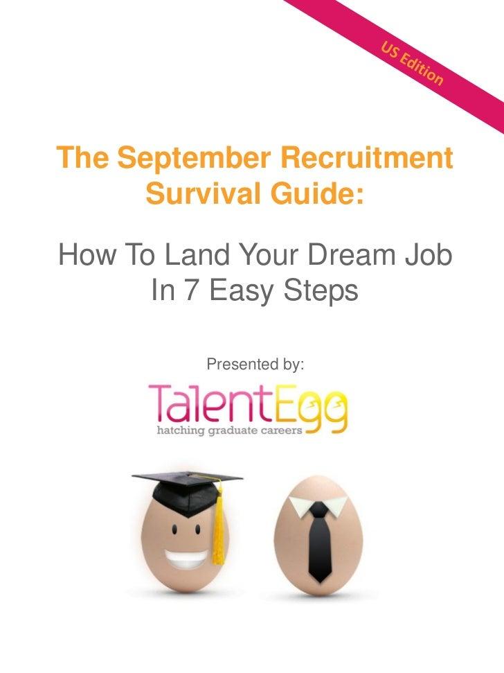 TalentEgg.com September Recruitment Survival Guide