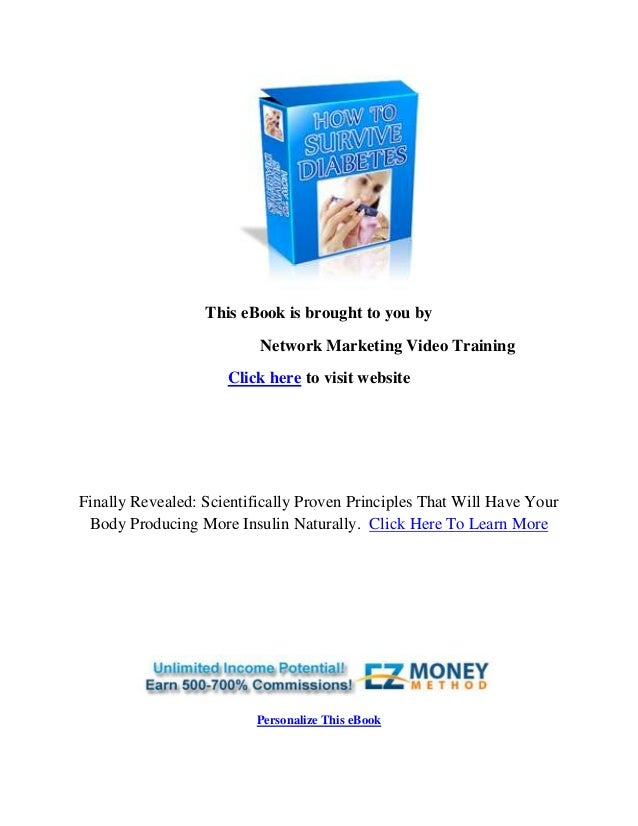 This eBook is brought to you by Network Marketing Video Training Click here to visit website Finally Revealed: Scientifica...