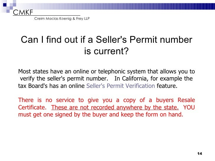 Reseller Permit Number a Seller 39 s Permit Number