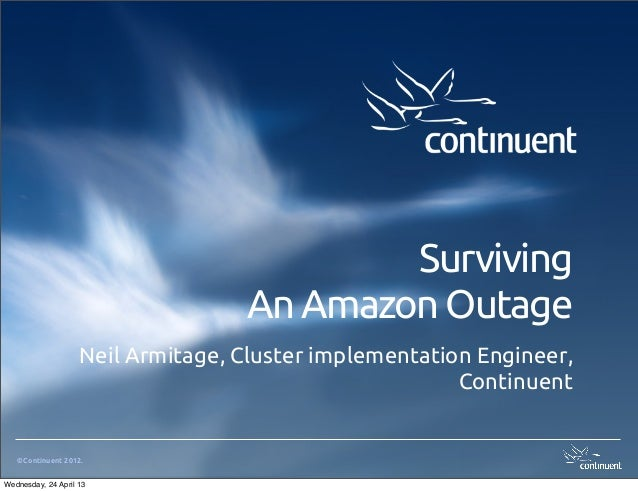 Surviving an Amazon Outage