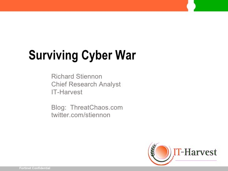 Surviving Cyber War