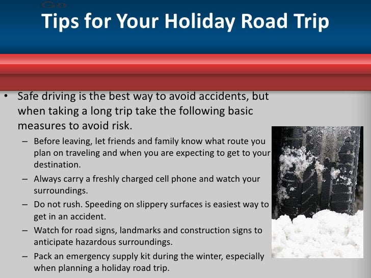 Image Gallery Holiday Travel Tips Driving
