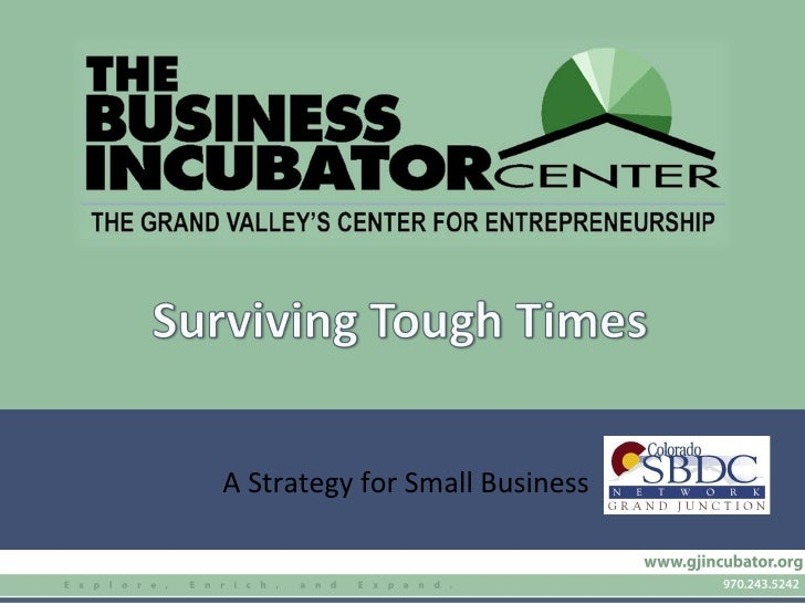 A Strategy for Small Business