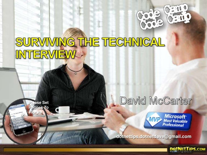 Surviving The Technical Interview<br />