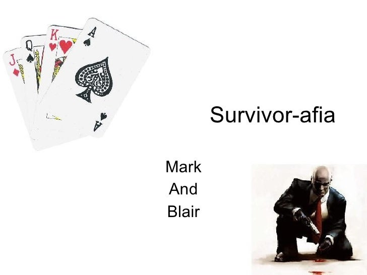 Survivor-afia Mark And Blair