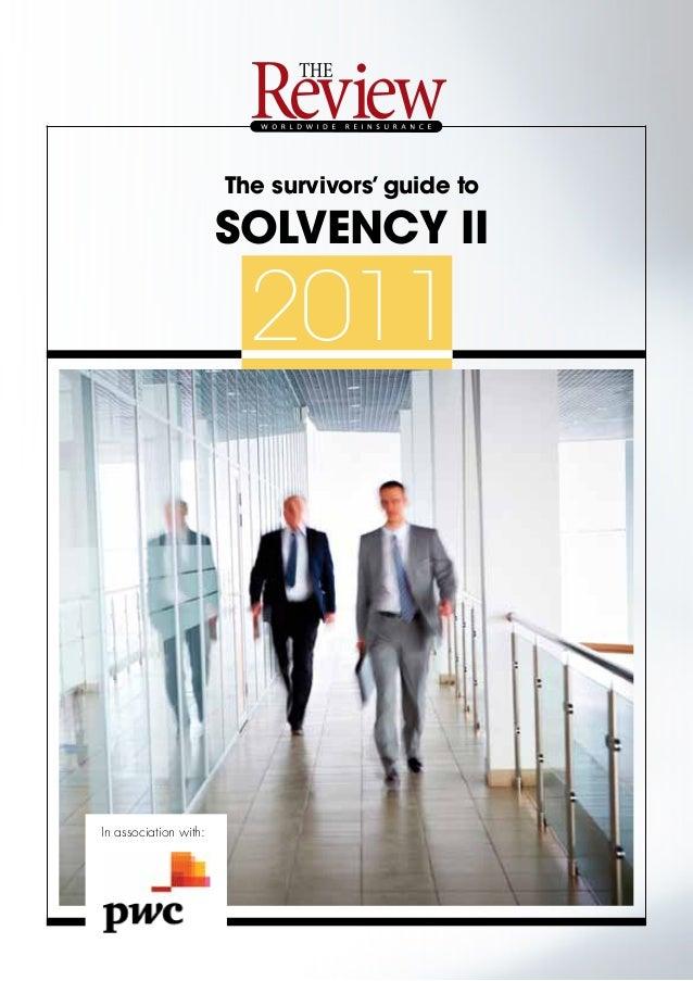 Solvency 2 Survivors' guide
