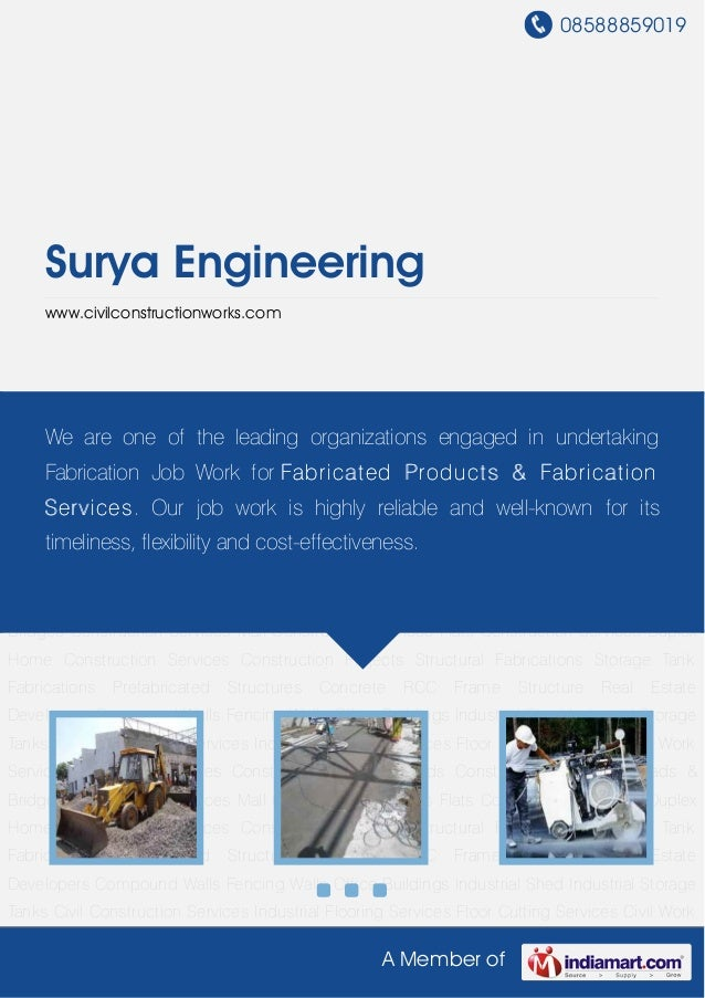 08588859019A Member ofSurya Engineeringwww.civilconstructionworks.comCivil Construction Services Industrial Flooring Servi...