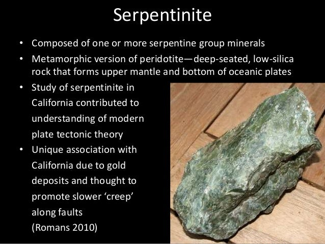 Serpentine - Rock Of Serpentine Group Minerals Royalty Free Stock ...
