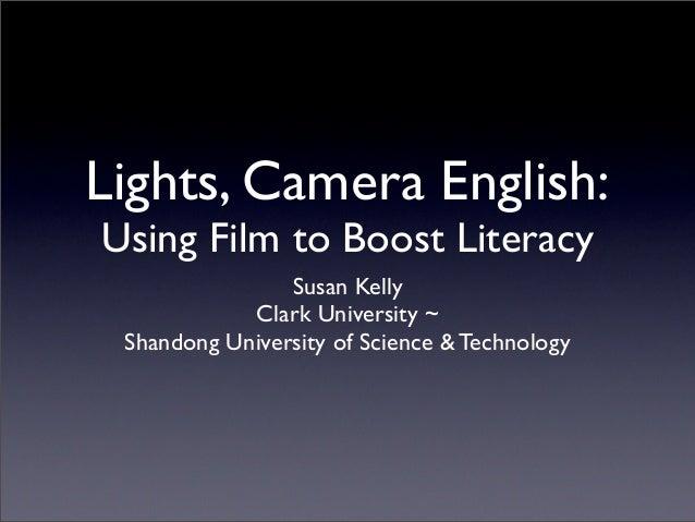Lights, Camera, English!
