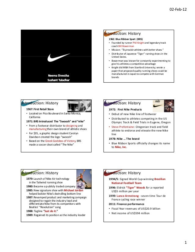 nikes marketing tool