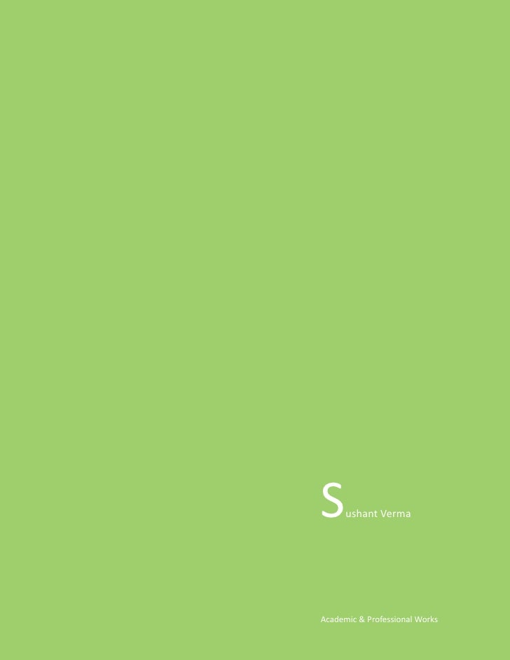 Sushant Verma Work Samples1